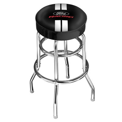 Brand New American Made Ford Racing Bar Stool For 174 95 Each Cool Garages Shelby