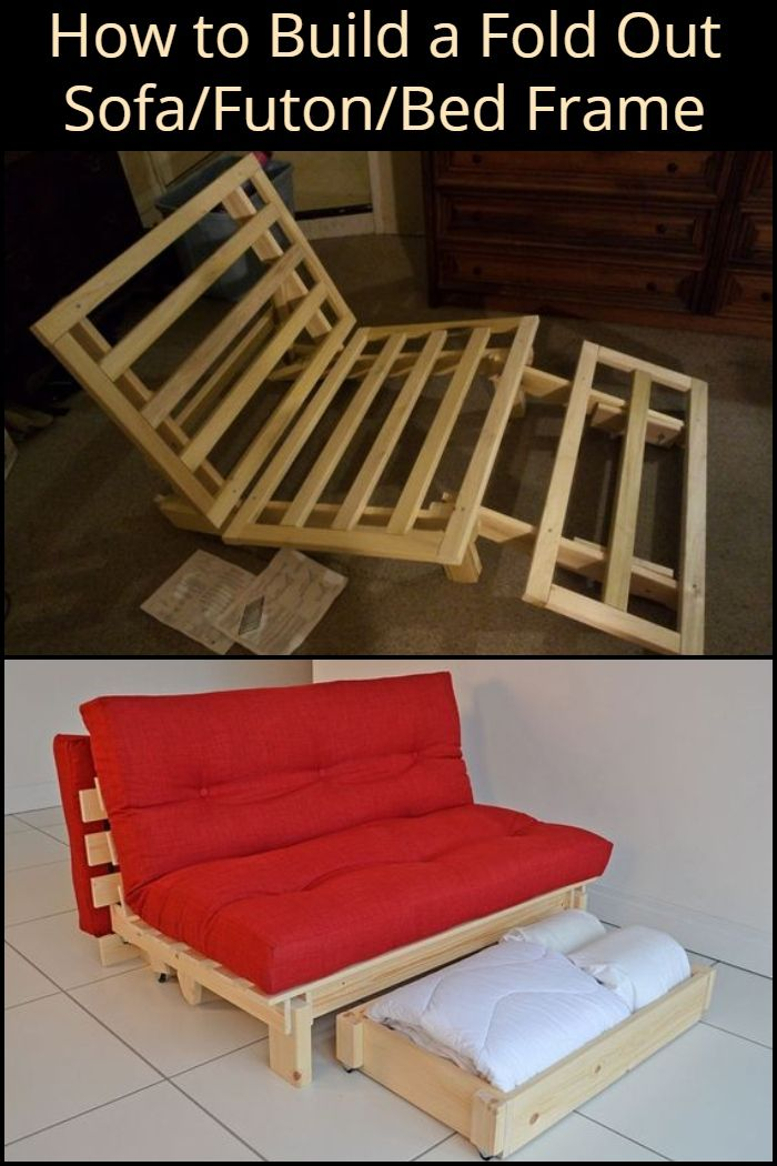 How To Build A Fold Out Sofa Futon Bed Frame General