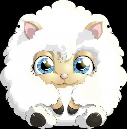 صور ثيمات خروف 2018 صور خروف مرسوم رمزيات خرفان صور ثيم خروف للتصميم Cute Lamb Cute Cartoon Animals Cartoon Animals