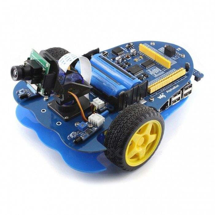 Waveshare AlphaBot-Pi Robot for Raspberry Pi / Arduino - Blue + Black. Find the cool gadgets at a incredibly lo