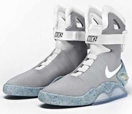 promo code 5e237 ba099 Nikes Back To The Future Shoes Are Here, starting at about 2000