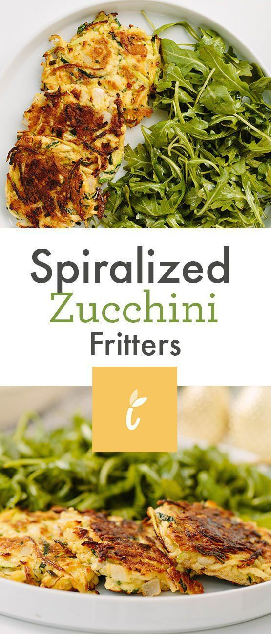 On Turning 30 Spiralized Zucchini Fritters