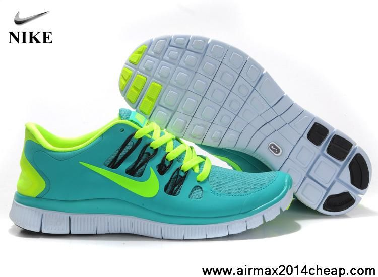 41325247cb0b Cheap Womens Nike Free 5.0 Sport Turquoise Fiberglass Anthracite 580591-373 Running  Shoes Store