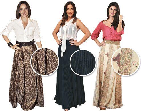 c83e39620a Inspire-se nas famosas para usar saia longa