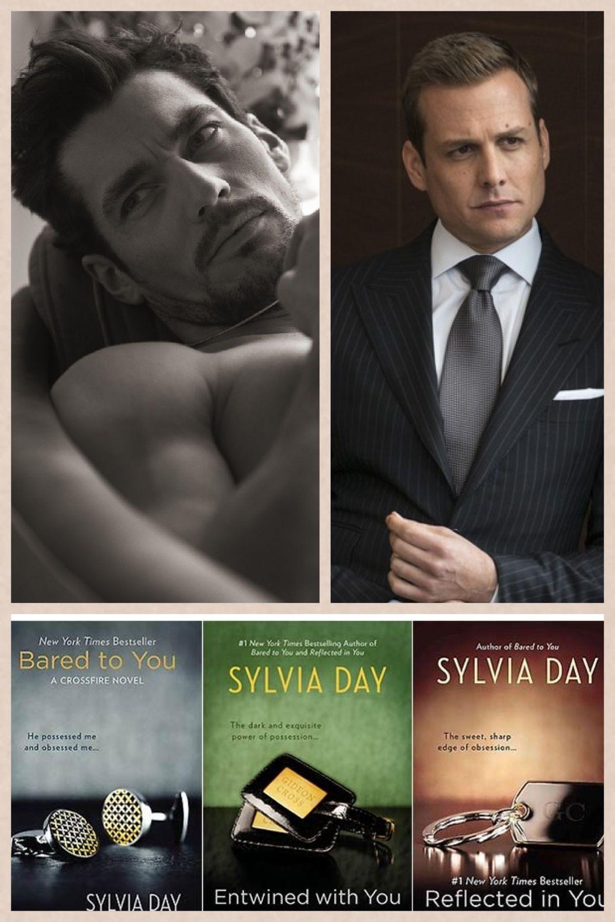 Book Boyfriend David Gandy Gabriel Macht as Gideon Cross