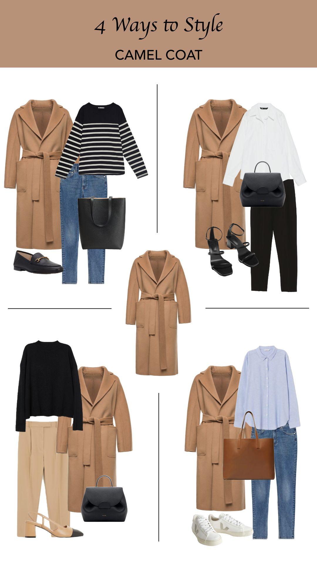 4 modi di stile: cappotto cammello