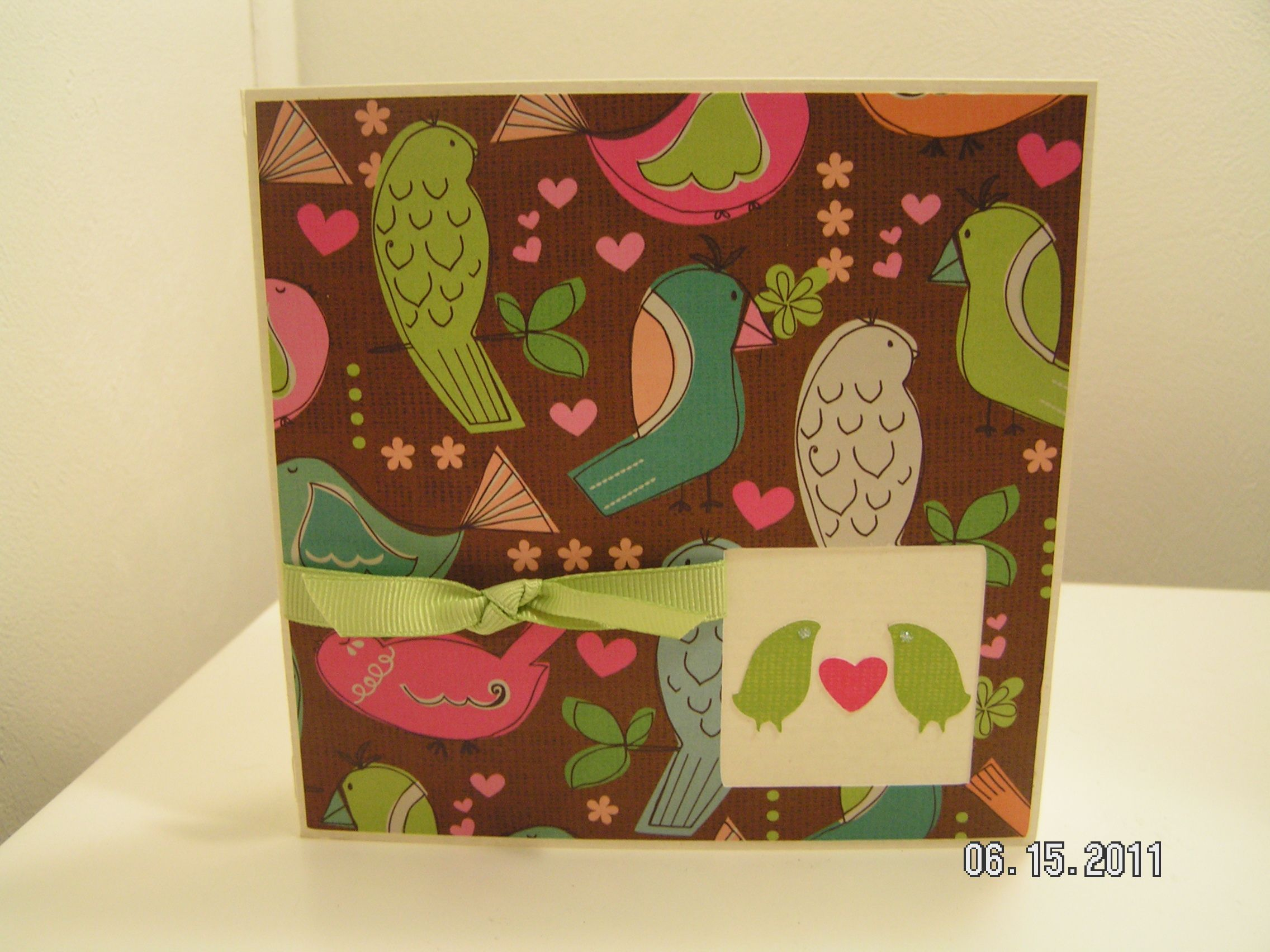Love Birds Anniversary Card Anniversary cards, Love