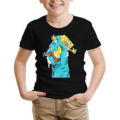 Jungen Kinder T-Shirt Parodie auf SpongeBob Schwammkopf (687) #camiseta #starwars #marvel #gift