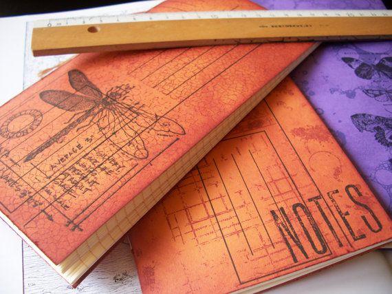 Traveler's Notebook Insert, Regular size, Grid, lined or plain