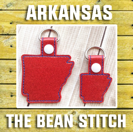 Arkansas - Includes TWO(2) Sizes!