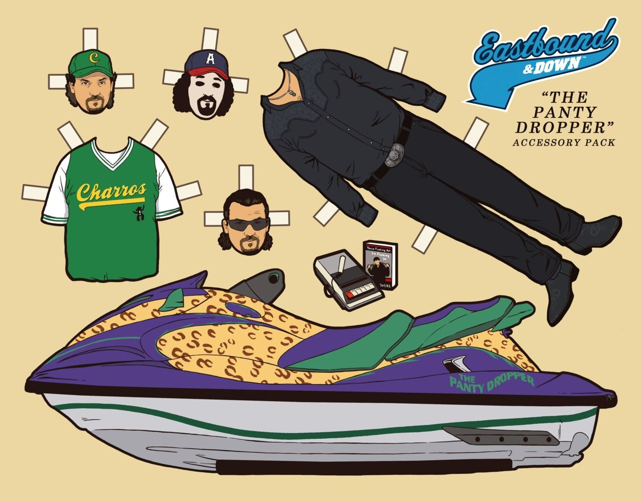"""big sale 68c0e 427ad Doll  36 Kenny Powers and """"The Panty Dropper""""...   Kyle Hilton"""