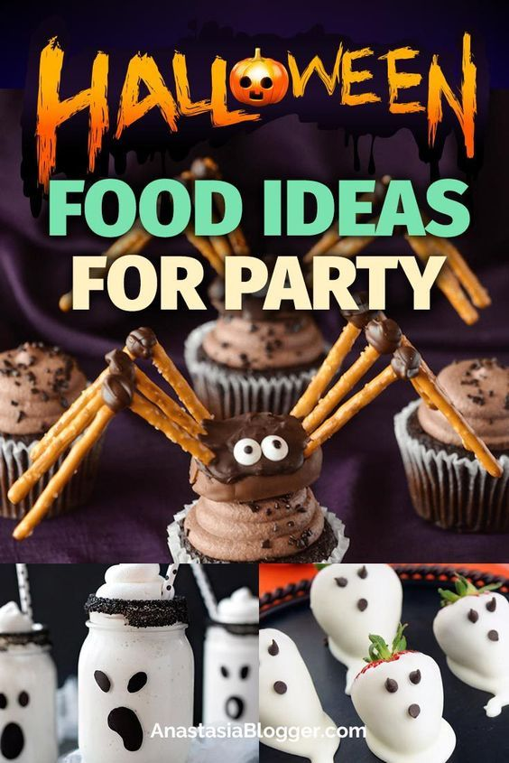 Amazing Halloween food ideas for party and Halloween treats for kids