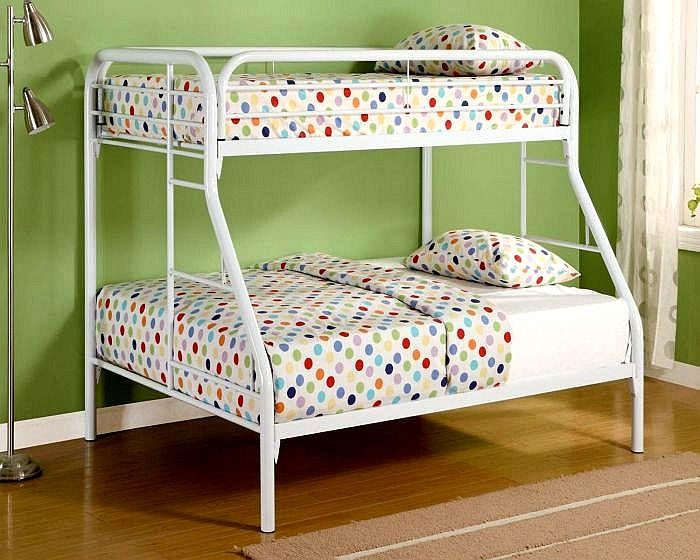 Pin Thistwin Over Full Bunk Bed By Coaster 2258w In Your Child S
