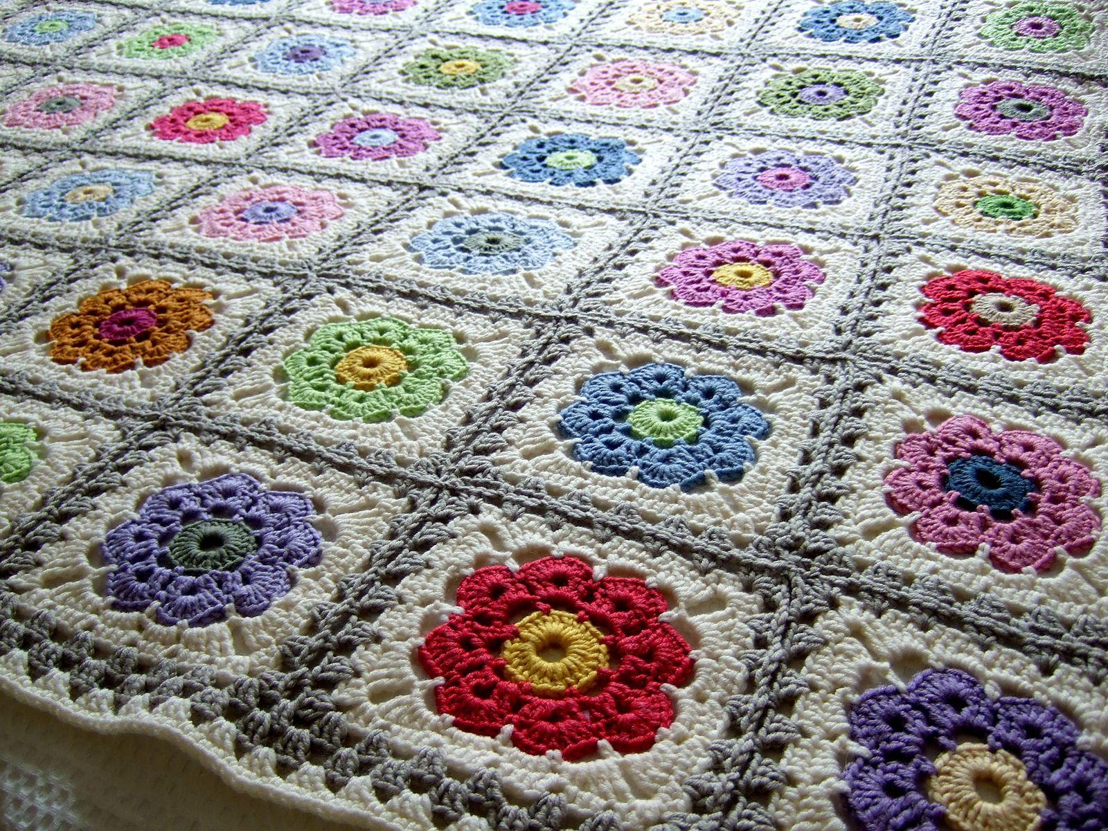 Ravelry katzis maybelle throw virkade rutor filtar kuddar mm crochet bankloansurffo Images