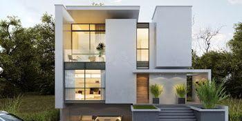 rumah minimalis modern, interior dan denah