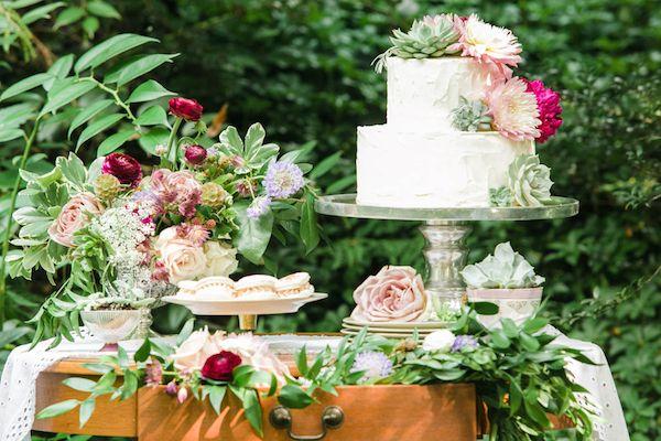 English Garden Party Wedding Inspiration