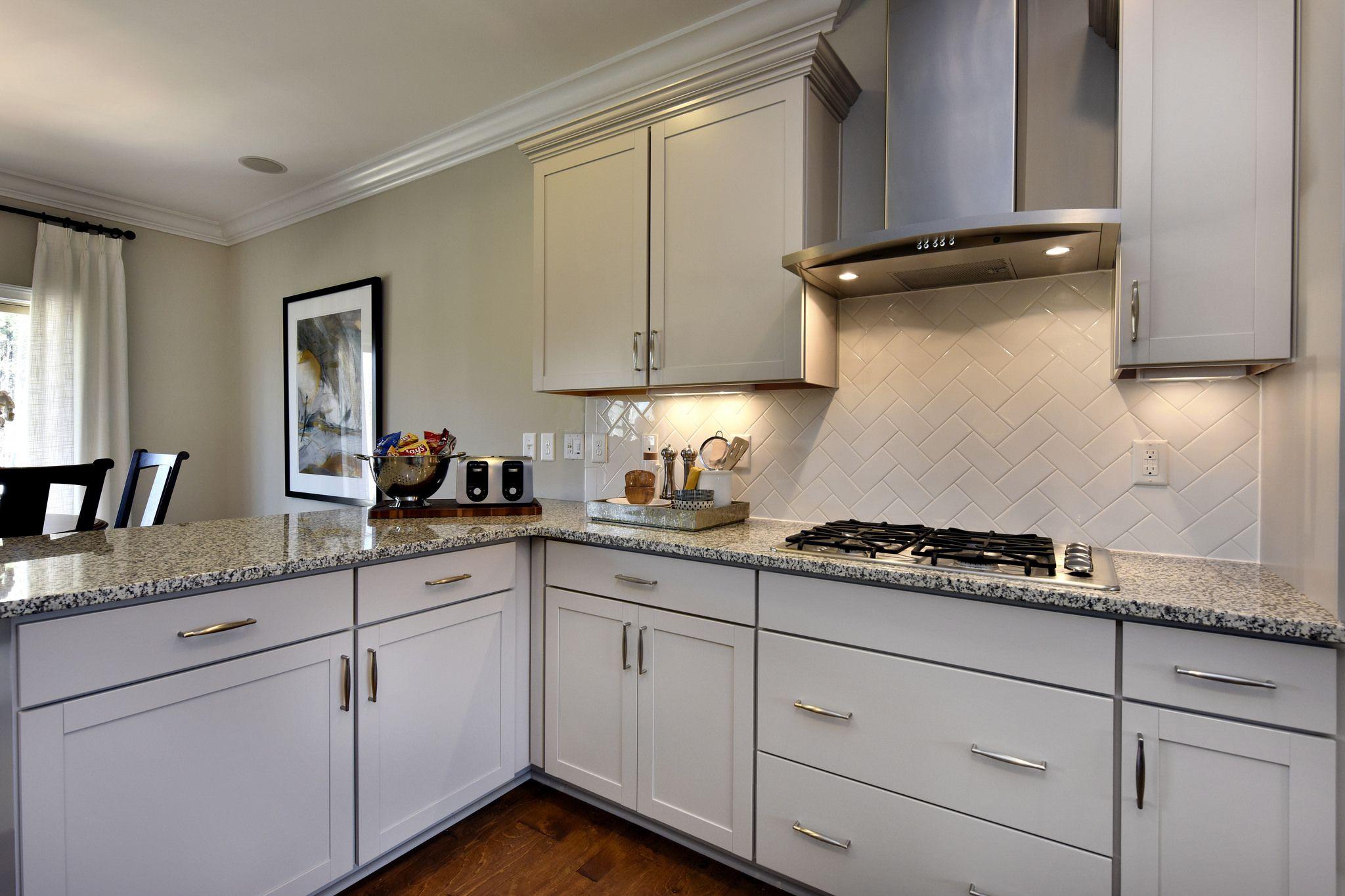 Best 10Kitchen Detail Light Granite Grey Hardwood House Design 400 x 300