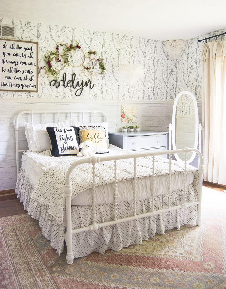 Girls Bedroom Reveal #girlsbedroom