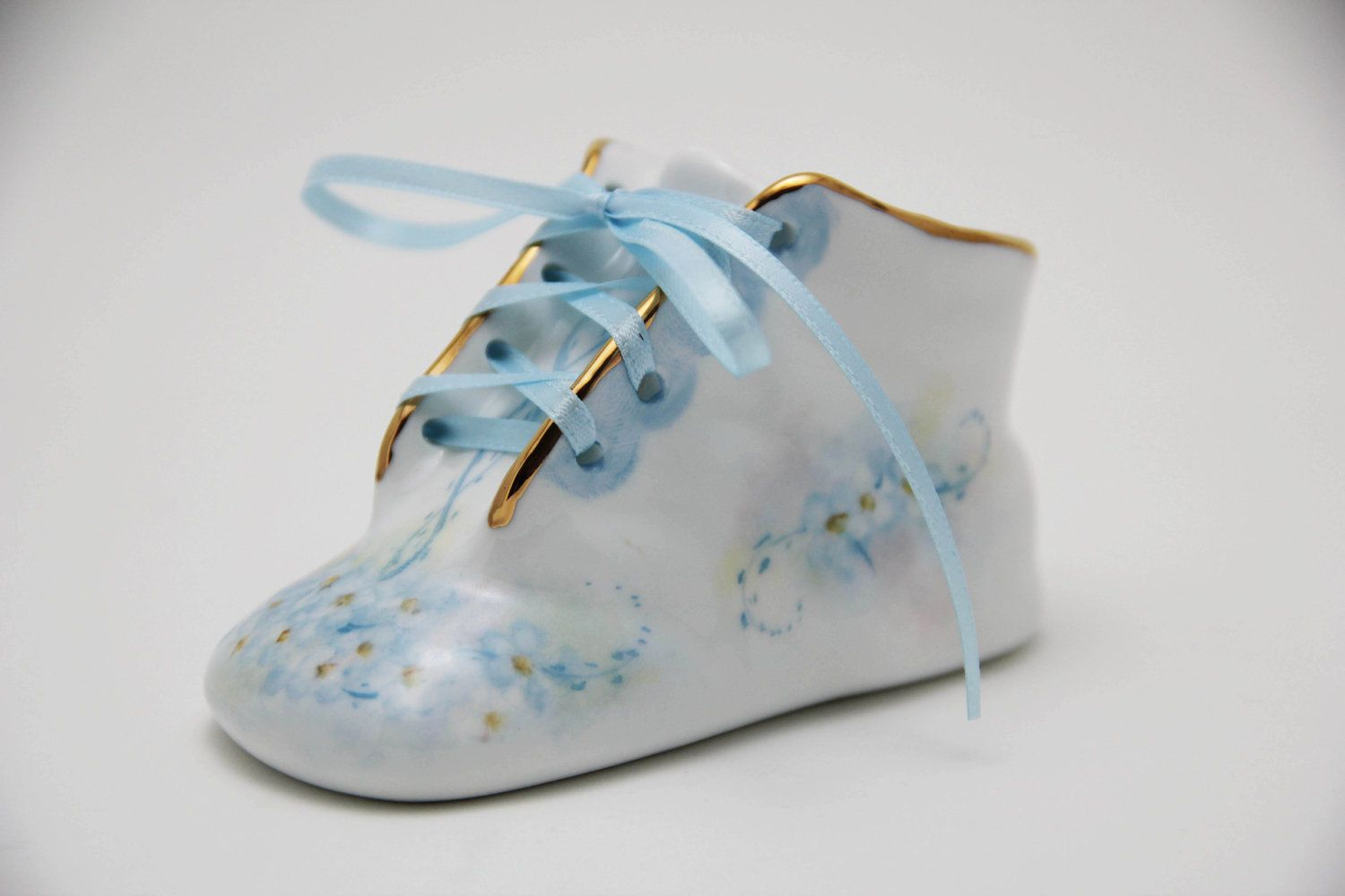 Porcelain Baby Shoe Personalized Baby