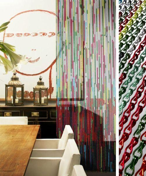 10 ideas para separar espacios cortinas metlicas separador ambientesseparadores - Cortinas Separadoras De Ambientes