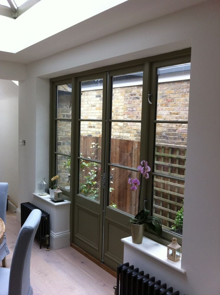French Patio Doors In A Small Extension Google Search French Doors Patio French Doors House