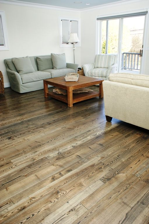 Floors One Option This Tongue And Groove Wide Plank Floor Is Made