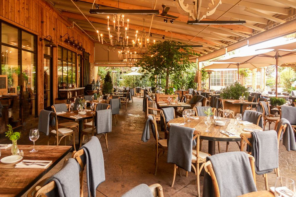 The 100 most scenic restaurants in the US Rogers gardens