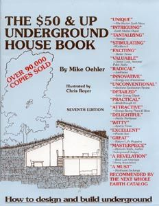 Earth sheltered underground houses how to books to build your own low cost energy efficient for Low cost energy efficient home designs