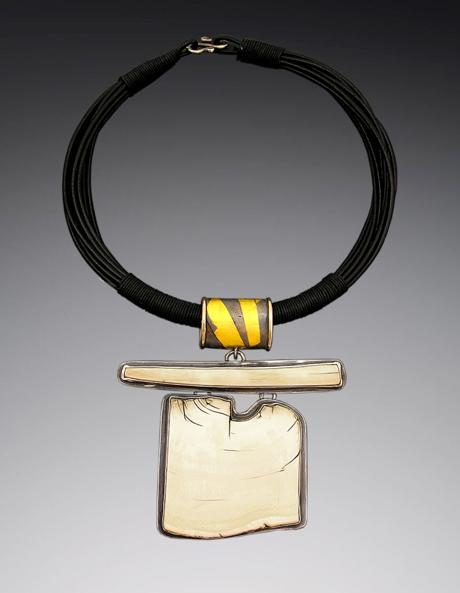 """Patricia McCleery -  """"Fossilized Ivory Necklace"""""""