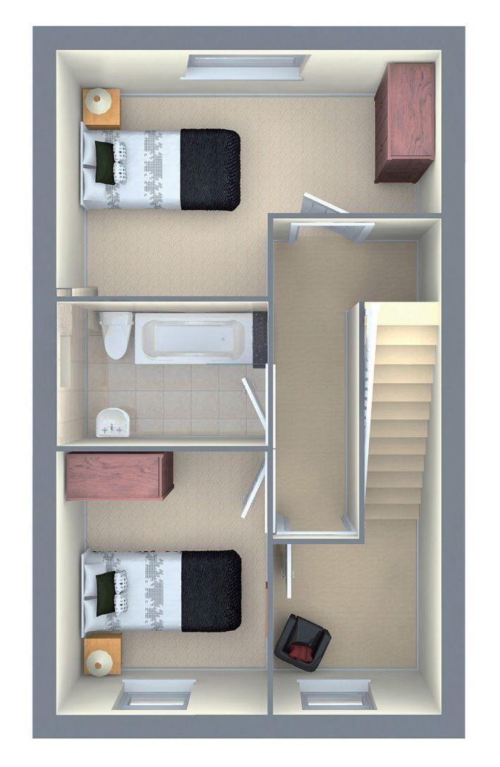 1st Floor The Oakhurst House Floor Plans Small Spaces House Design House plan small space