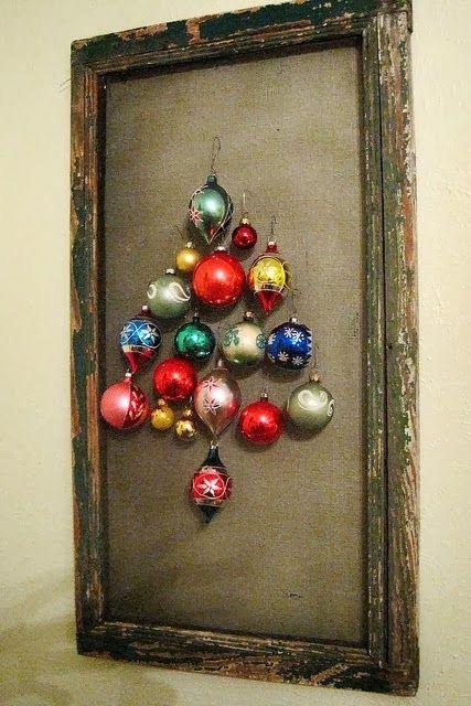 OS MELHORES ARTESANATOS: Ideías de Natal Vintage para decoração