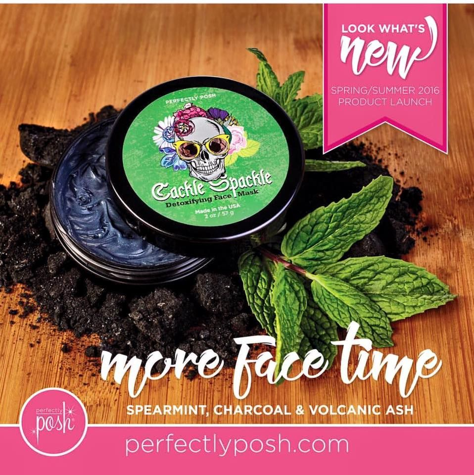 Charcoal and mint in a fabulous detox mask, meet Cackle Spackle! This was an exclusive product from 2015 that was brought back for our regular spring/summer line! This is my FAVORITE mask! Visit my website to find more amazing pampering goodies all under $25!