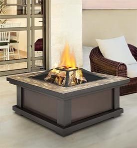 4 Types Of Fire Pits Allergyandair Com Wood Burning Fire Pit Fire Pit Table Fire Pit