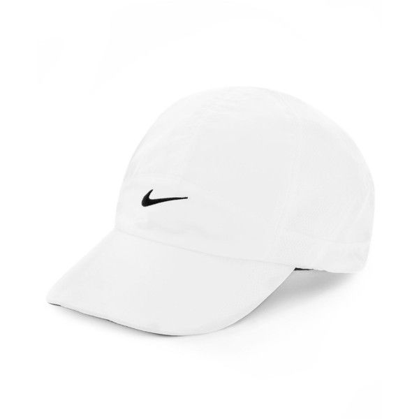 separation shoes dbcca f909e Nike Featherlight 2.0 Dri-fit Sports Cap ( 25) ❤ liked on Polyvore  featuring accessories, hats, nike, sports caps, dri fit hat, nike hats and caps  hats