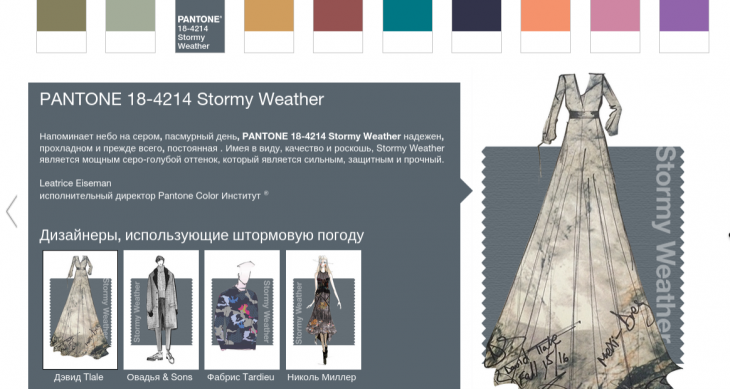 Fall 2015 10 the most fashionable shades of PANTONE