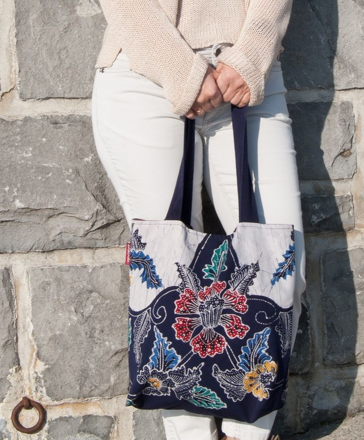 Floral Canvas Tote Bag For Everyday Use And Shopping Teacher Bag