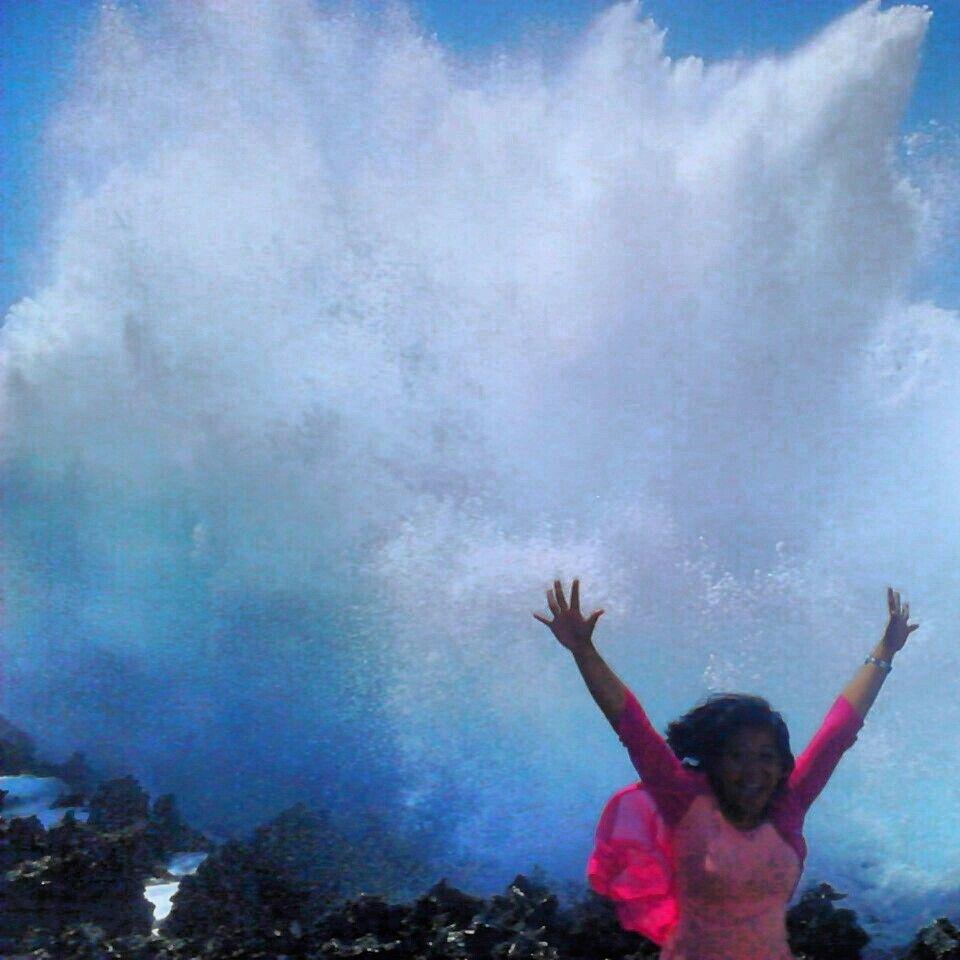 Waterblow,NusaDua.Bali. Indonesia