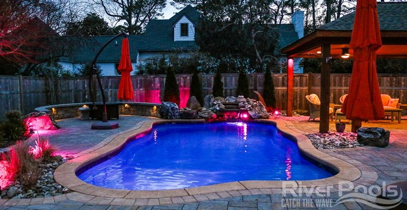 What Are The Best Fiberglass Pool Shapes Pool Shapes Inground Pool Designs Backyard Pool Designs