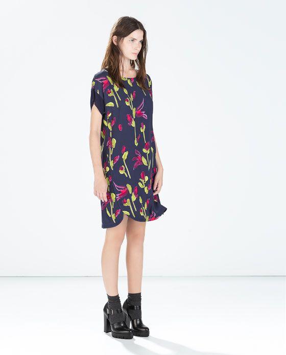 Zara jurk met print