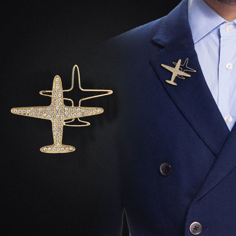 Para Wings Cut-Out Lapel Pin badge in Pouch Gift Idea