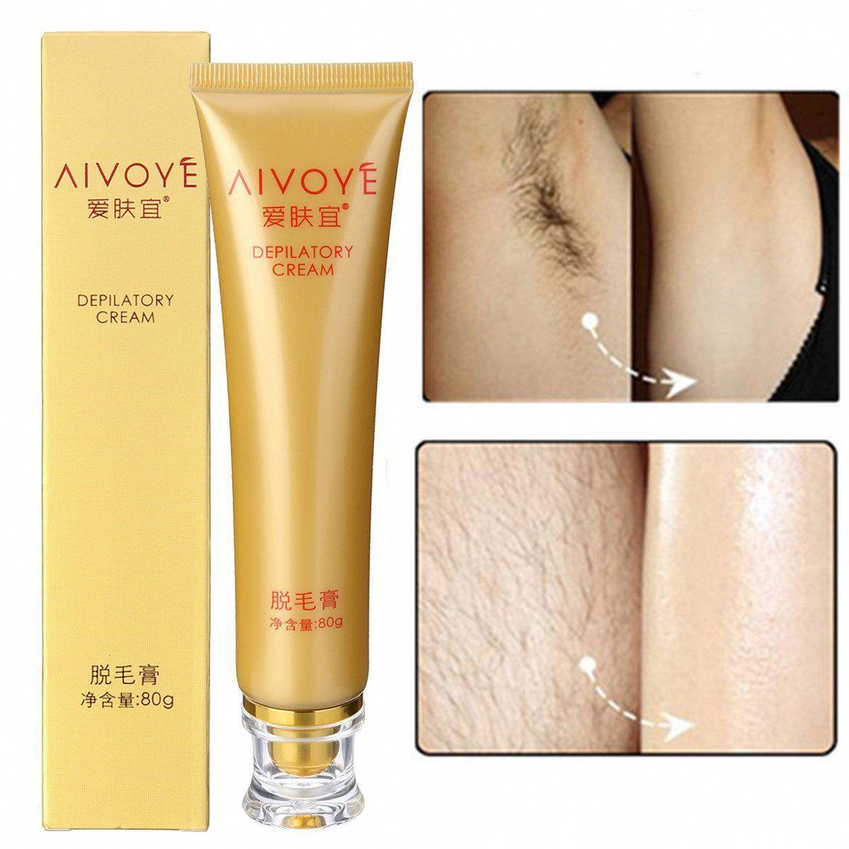 AIVOYE Depilatory Cream Powerful Permanent Body Hair