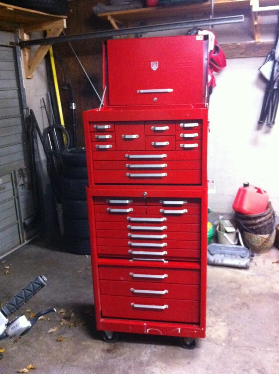 Beach/Mastercraft Tool Box Cabinet, Vintage Box, Vintage Tools, Tool  Organization,