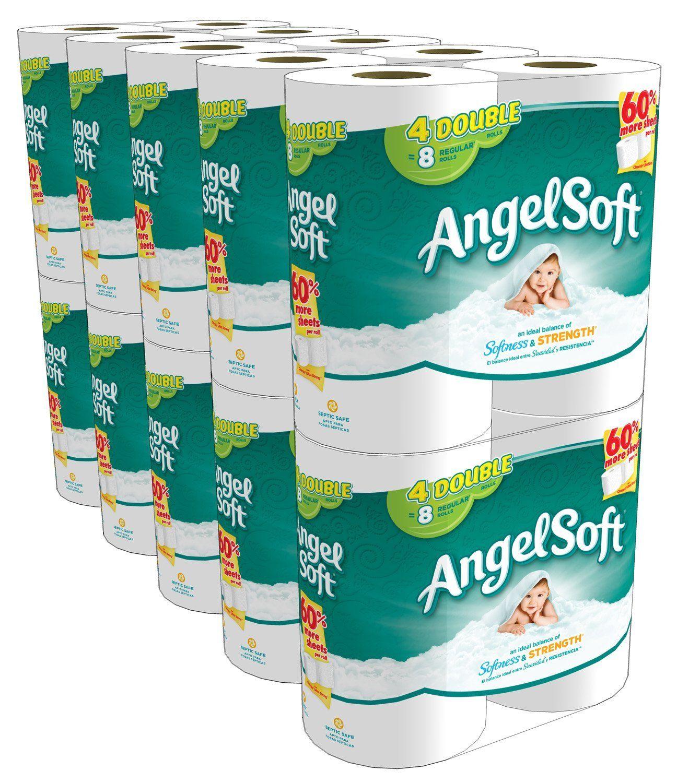 Angel soft double rolls cheap ideal balance of softness