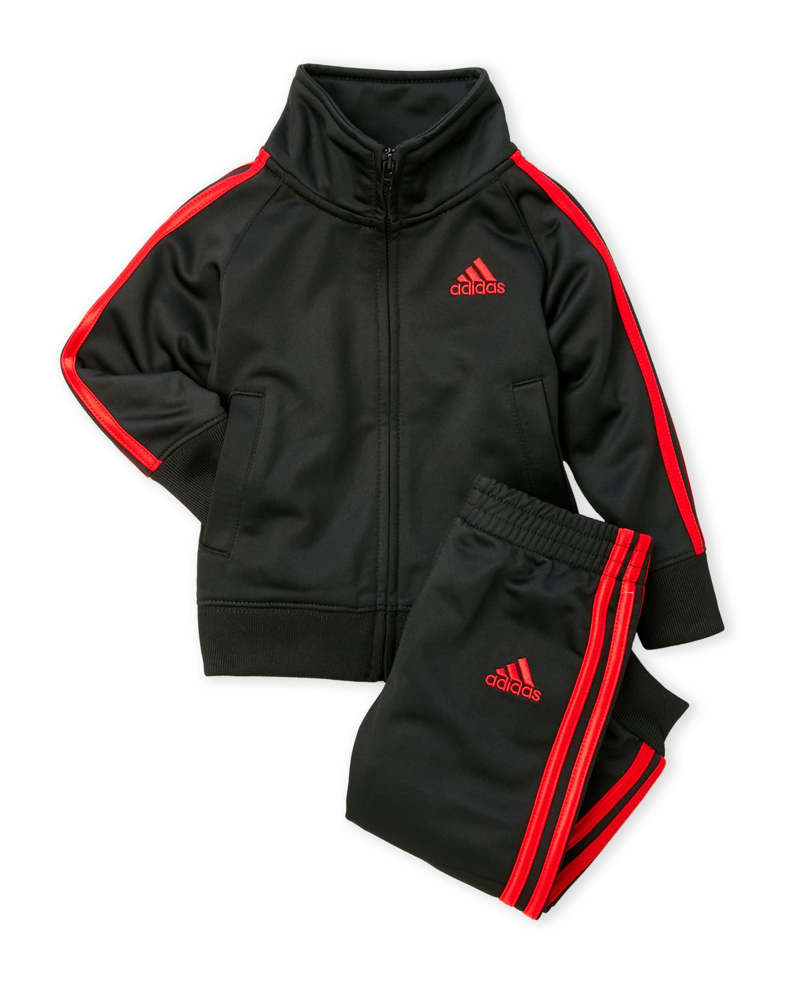 Adidas (Toddler Boys) Two-Piece Jogger Tracksuit Set f92c1426b