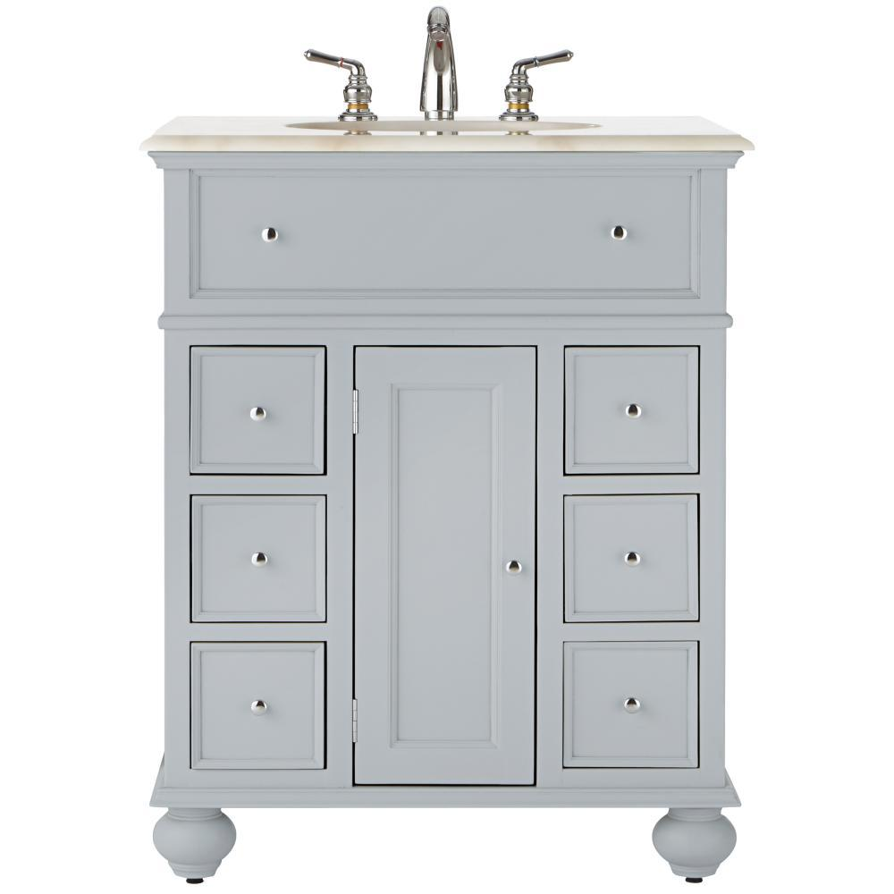Best Home Decorators Collection Hampton Harbor 28 In Vanity In 640 x 480