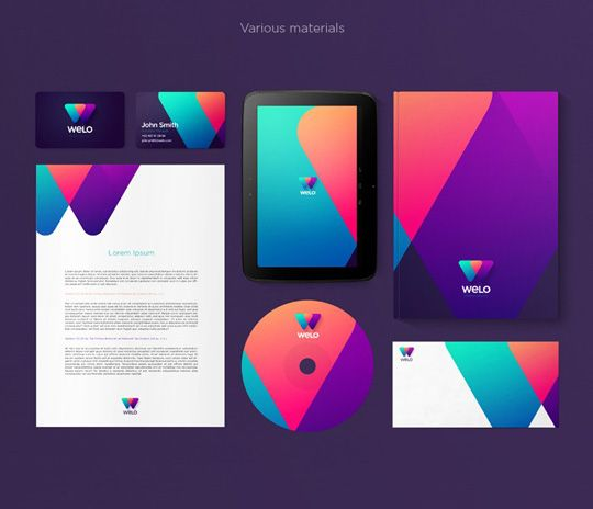 Visual Identity And Branding Series Welo Mobile Network Corporate Identity Design Visual Identity Brand Identity Design