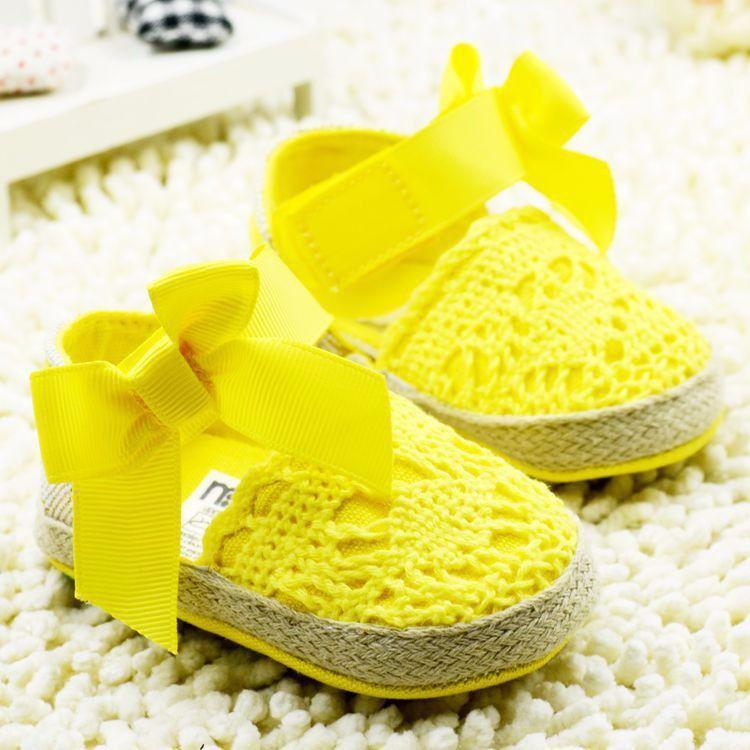 2015 Summer Infant Toddler Princess First Walkers Newborn Baby Girls Kids Prewalker Shoes Bow Dress Shoes Sandals 4Colors 3Sizes