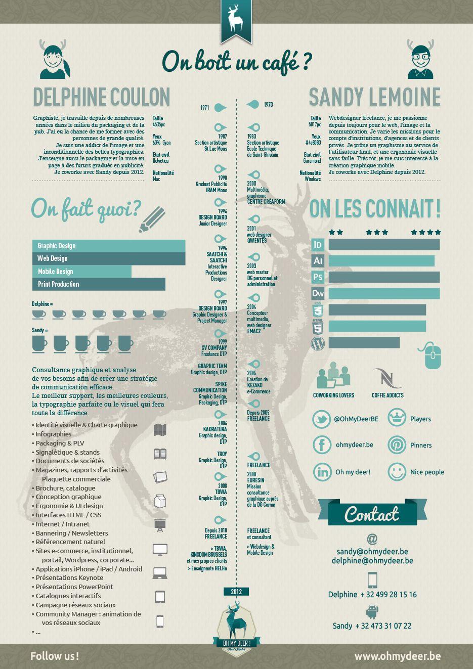 Curriculum Infographie