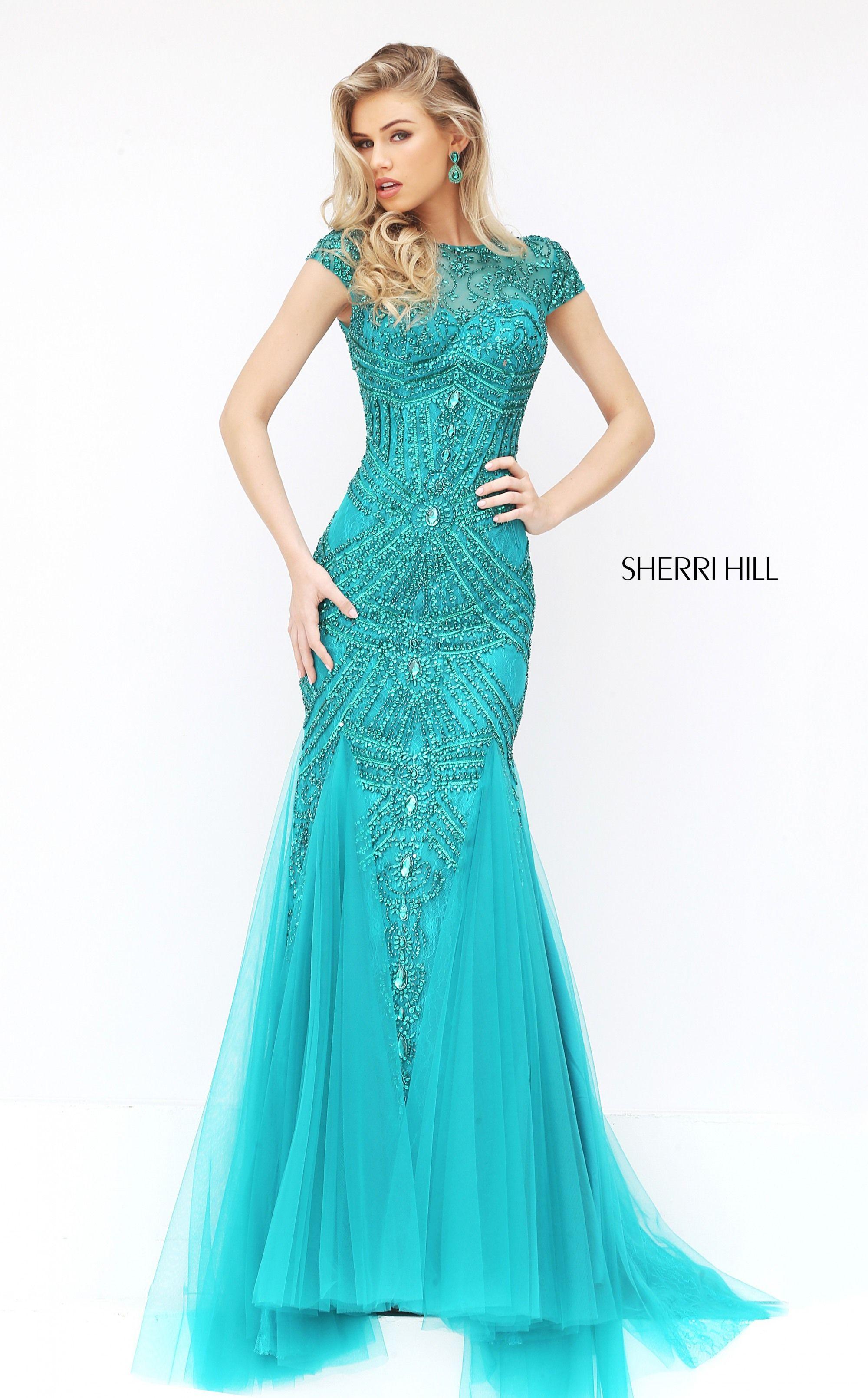 Spring 2017 Sherri Hill Utah Prom Dress Utah Dress Store Mermaid ...