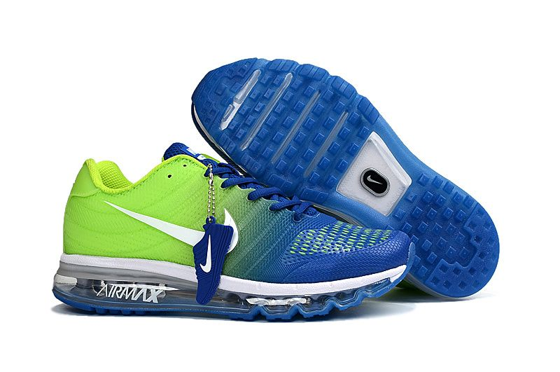 Nike Air Max 2017 Mens running shoes Sapphire blue fluorescent green, cheap Air  Max If you want to look Nike Air Max 2017 Mens running shoes Sapphire blue  ...